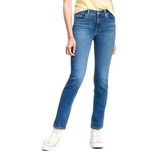 LEVI'S Womens 712 Slim Denim Jeans
